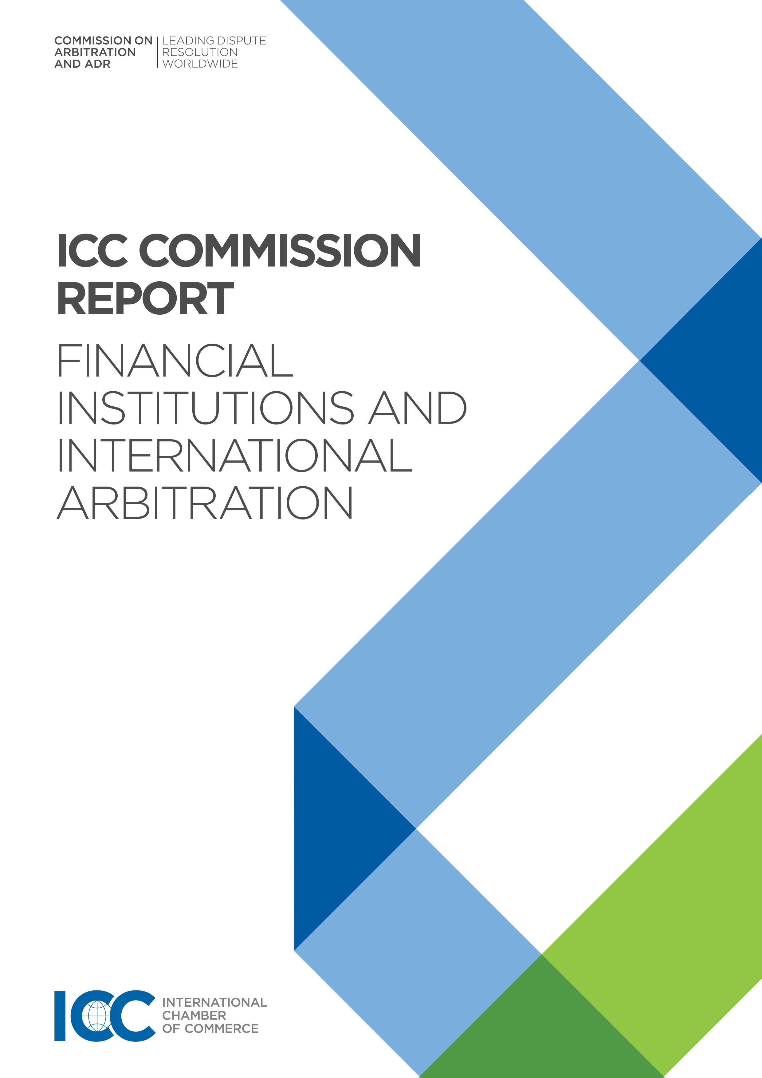 Banking and Finance Arbitrations – ICC Report