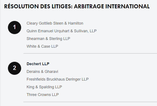 Arbitration law firms 2
