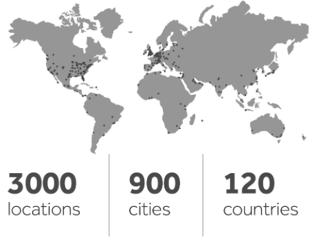Arbitration in 900 Cities and 120 Countries